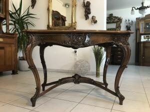 Prächtiger Beistell Tisch Barocktisch Pfeiferlbarock Z1761