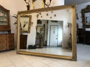 Riesen Wandspiegel Dekospiegel Barock Gold Z1460