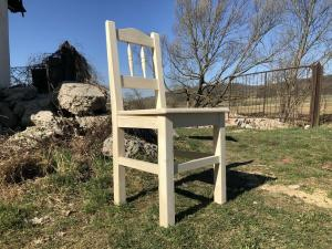 Bauernsessel Sessel Stuhl Landhaussessel Fichtenholz R0B1003