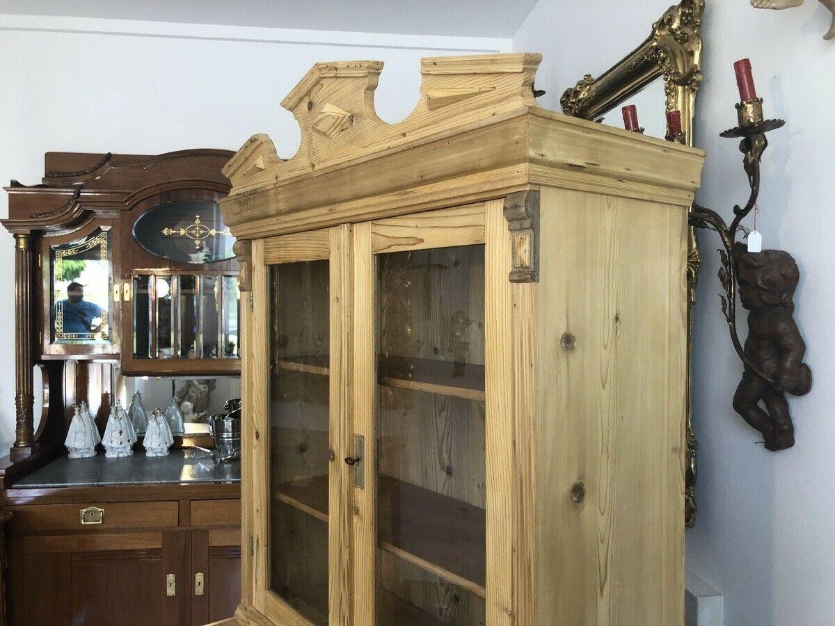 Gründerzeit Küchenbuffet Küchenschrank Küchenkredenz Bauernvitrine Z1709 1