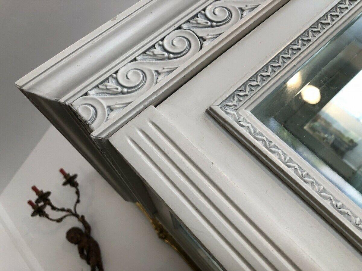 Prächtige Klassizismus Bücherschrank Vitrine Glasschrank Z1673 3