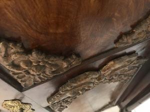 Authentischer Barock Schrank Bauernschrank um 1790 Traumstück Original W3027