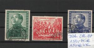 DDR-Deutsch Chinesische Freundschaft / 286-288/150Mi€/O