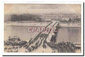 Visite de S M Alphonse XIII a Paris Ansichtskarte AK Le President Loubet retourne a l'Elysee