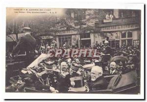 Visite de S M Alphonse XIII a Paris Ansichtskarte AK Les Halles Cinq minutes d'arret !