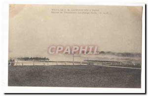 Visite de S M Alphonse XIII a Paris Ansichtskarte AK revue de Vincennes La charge finale