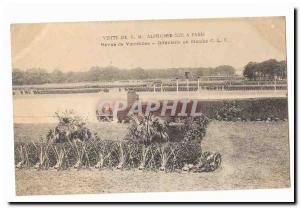 Visite de S M Alphonse XIII a Paris Ansichtskarte AK revue de Vincennes Infanterie en marche