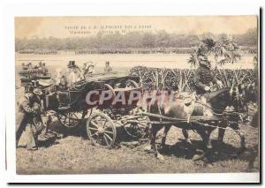 Visite de S M Alphonse XIII a Paris Ansichtskarte AK Vincennes Arrivee de M Loubet