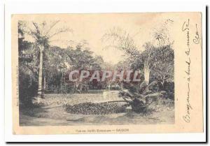 Vietnam Saigon Ansichtskarte AK Vue du jardin botanique