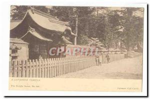 Japon Nippon Japan Ansichtskarte AK A japanese temple