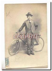 Ansichtskarte AK cycliste (velo)