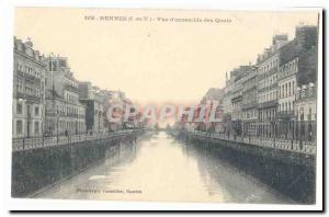 Rennes Ansichtskarte AK Vue d\�ensemble des quais