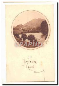 Joyeux Noel 1926 Ansichtskarte AK Fantaisie