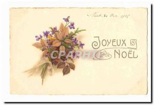 Ansichtskarte AK Joyeux Noel (fleurs)