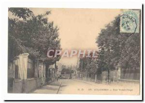 Colombes Ansichtskarte AK Rue Victor Hugo