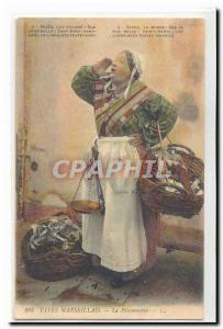 Types Marseillais Ansichtskarte AK La poissonniere TOP