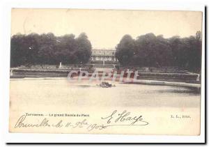 Belgique Tervuren Ansichtskarte AK Le grand bassin du parc