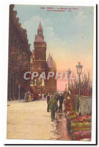Paris (10eme) Ansichtskarte AK Marche aux fleurs La conciergerie