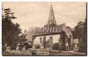 Buckinghamshire-England-Angleterre- Stoke Poges Church and Gray's Tomb -Ansichtskarte AK