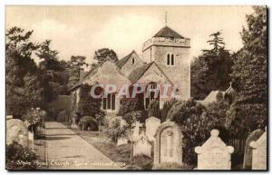 England-Angletrees- Buckinghamshire- Stoke Poges Church- Spire Removed 1924