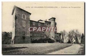 Le Chambon Feugerolles Ansichtskarte AK Chateau