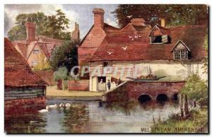 Grande Bretagne Great BRitain Ansichtskarte AK Mill stream Amersham