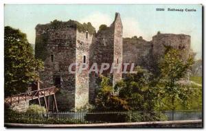 Grande Bretagne Great BRitain Ansichtskarte AK Rothesay castle