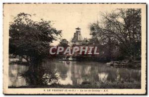 Le Vesinet - Le Lac de Croissy Ansichtskarte AK