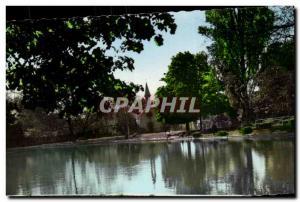 Le Vesinet - Le Lac de Croissy - Le Temple - Ansichtskarte AK