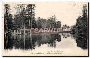Gaillon - Chateau des Rotoirs - Ansichtskarte AK