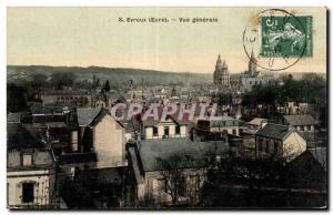Ansichtskarte AK Evreux Eure Vue Generale