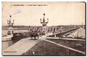 Ansichtskarte AK Briare (Loiret) le Pont Canal
