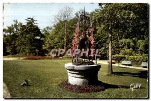 Moderne Karte Avranches (manche) jardin public