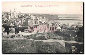 Ansichtskarte AK Granville Vue Generale prise du Moulin et vent