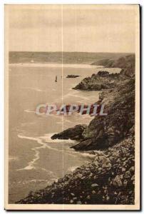 Ansichtskarte AK Pointe Du Raz La Baie des Trepasses