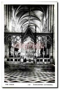 Ansichtskarte AK The Choir Worcester Cathedral