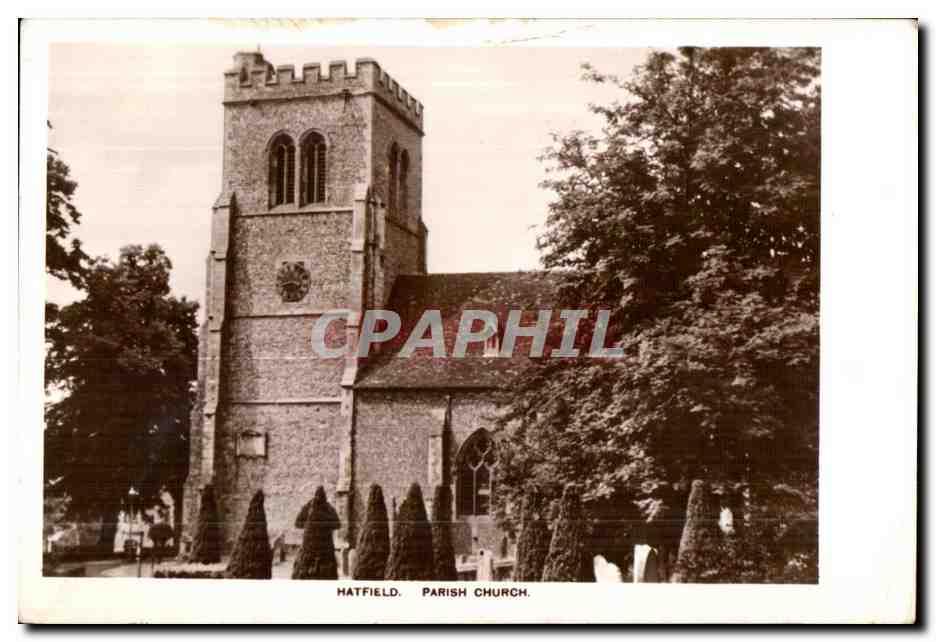 Ansichtskarte AK Hatfield Parish Church 0