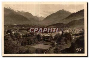 Ansichtskarte AK Les Pyrenees Argeles Gazost (Htes Pyrenees)Station thermale sur la Vallee d Argeles Au fond S ou