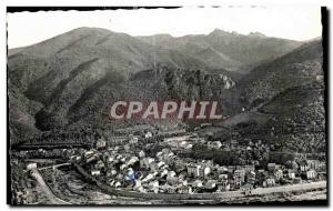 Ansichtskarte AK Amelie Les Bains Perle des Pyrenees Vue generale Entree des Gorges Roc St Sauveur