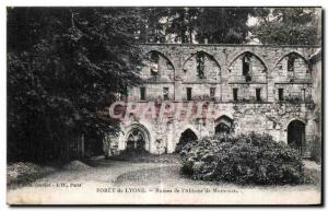 Ansichtskarte AK Foret de Lyons Ruines de l Abbaye de Mortemer