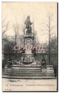 Ansichtskarte AK Valenciennes Le Monument Watteau par Carpeaux