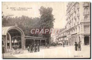 Ansichtskarte AK Vichy Promenoirs couverts et Rue Cunin Gridaine