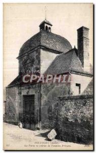 Ansichtskarte AK Souvigny La Porte et entree de I Ancien Prieure