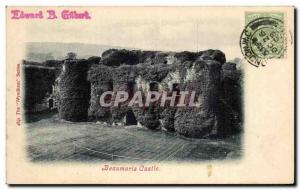 Ansichtskarte AK Beaumaris Castle