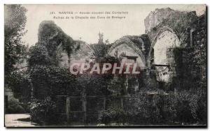 Ansichtskarte AK Nantes Ancien Couvent des Cordeliers Ruines de la Chapelle des Ducs de Bretagne