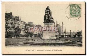 Ansichtskarte AK Le Havre Monument Bernardin de Saint Pierre
