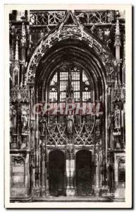 Moderne Karte Thann La Cathedrale Le Portail Lateral