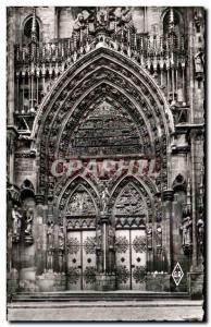 Moderne Karte Thann Le Portail De La Cathedrale