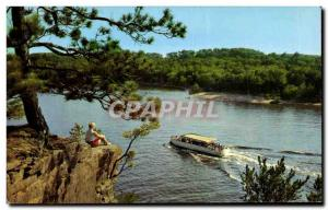 Moderne Karte A Summer Day In the Dells Wisconsin Dells wis