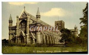 Ansichtskarte AK St Albans Abbey South West